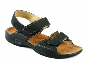 Zdravotní sandály Medistyle Karel 2K-M26 černé