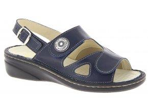 Dámské sandály se strečem Varomed Isabell 06325-25 modré