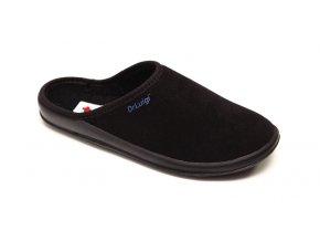 Domácí obuv Dr. Luigi černé