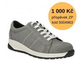 Diabetická obuv ALMA MEDI šedá