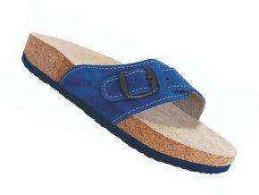 Zdravotní pantofle korkáče Protetika T05 tmavě modré