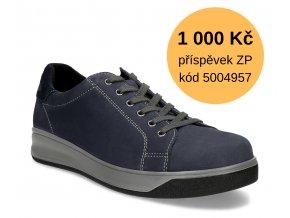 Diabetická obuv pánská MILAN MEDI tmavě modrá