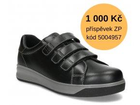 Diabetická obuv pánská JONAS MEDI černá