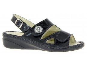 Dámské sandály se strečem Varomed Isabell 06325-60 černé