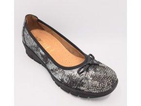 Dámské baleríny pro široké nohy Florett Madleen 03362-60 černé