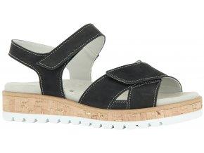 Dámské sandály Florett Yolanda 01471-25 tmavě modré
