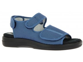 Sandály pro široké nohy Varomed Stavanger 62893-20 modré