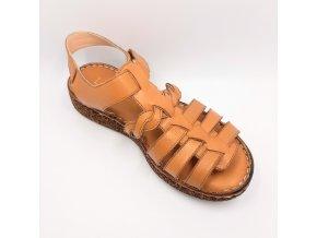 Dámské sandály Looke Serina L0248-15 hnědé