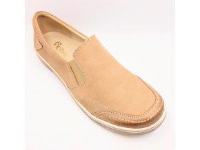 Dámské polobotky pro širší nohy Peon KB/994-7 béžové