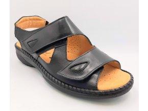 Dámské zdravotní sandály Carya Axel 2214 černé