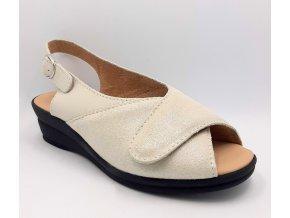Dámské zdravotní sandály Carya Devon 8237 béžové