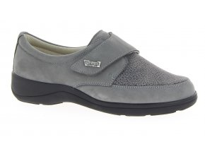 Dámské polobotky pro široké nohy Varomed Tallin 79151 šedé 1