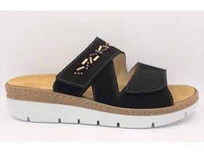 Dámské zdravotní pantofle Florett Carolina 10711-60 černé