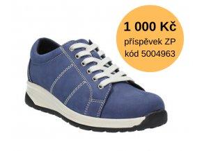 Diabetická obuv ALMA MEDI modrá 4