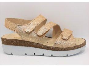 Dámské sandály Florett Kira 10211/48 zlaté