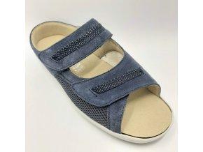 Dámské zdravotní pantofle Florett Havanna 77711/25 modré