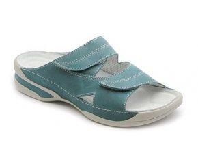 Dámské pantofle Medistyle Lucy 5L-E11 tyrkysová