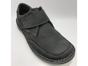 Pánské polobotky pro široké nohy ORTO plus D 688-008 černé