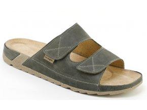 Zdravotní pantofle Medistyle Vilém 5V-J16/1 šedé