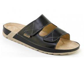 Zdravotní pantofle Medistyle Vilém 5V-J16 černé