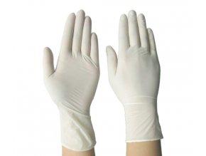 Nesterilní rukavice nitrilové bez pudru Nitricare velikost S 100 ks/balení