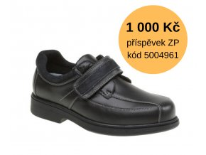 Diabetická obuv pánská RADIM MEDI černá