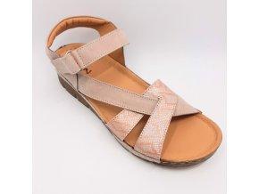 Dámské zdravotní sandály Peon KA/K176-11 béžové