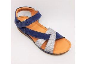 Dámské zdravotní sandály Peon KA/K176-36 modré