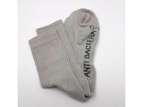 Antibakteriální ponožky se stříbrem Agiva AT07 poloplyšové s ochranou nártu