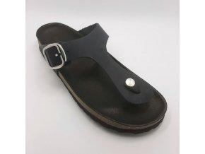 Bio Bio 201-77265-06 černá Dámské pantofle
