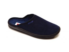 Froté papuče Dr. Luigi černé