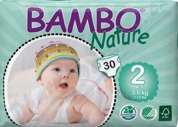 Vítězné plenky BAMBO NATURE