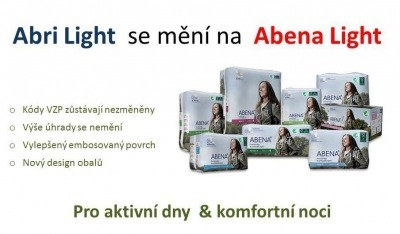 Abri Light se mění na Abena Light