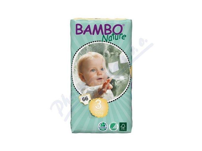 BAMBO Nature Midi plenkové kalhotky 5-9kg 66ks