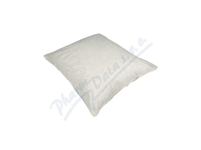 Jednorázový povlak na polštář, bílý, 65x65 cm, 10 ks/bal
