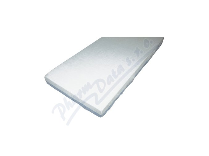 Jednorázové prostěradlo- elastické, bílé, 200x90x20 cm, 10 ks/bal