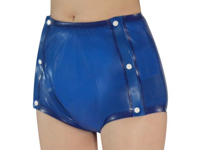 Latexové kalhoty - zapínací