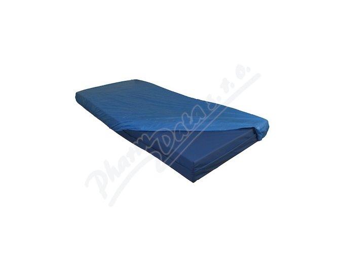 Povlak na lůžko 10 ks, plastový jednorázový, modrý, PE, 22 m