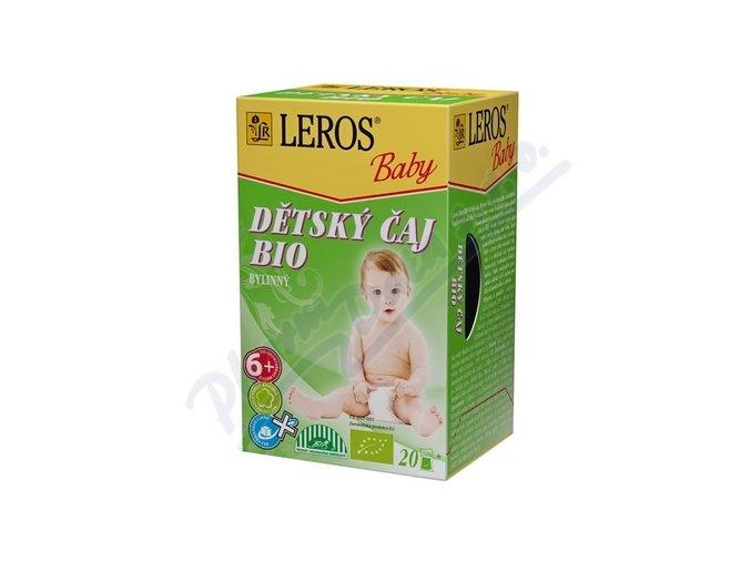 Čaj Dětský Leros Baby BIO Bylinný 20x2g
