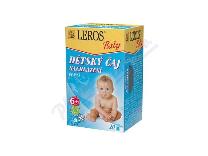 Čaj Dětský Leros Baby Nachlazení 20x2g