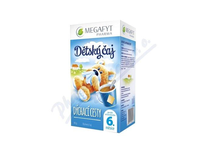 Megafyt Dětský čaj Dýchací cesty n.s.20x2g Novinka