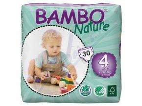 BAMBO Nature Maxi plenkové kalhotky 7-18kg 30ks vel 4