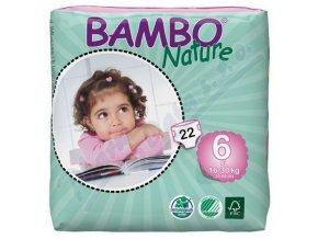 BAMBO Nature XL plenkové kalhotky 16-30kg 22ks