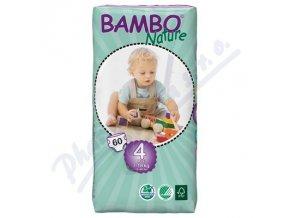 BAMBO Nature Maxi plenkové kalhotky 7-18kg 60ks