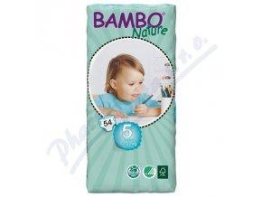 BAMBO Nature Junior plenkové kalhotky 12-22kg 54ks