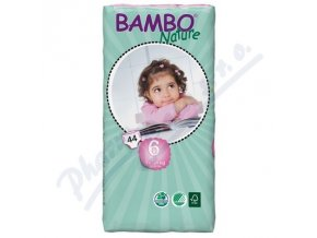 BAMBO Nature XL plenkové kalhotky 16-30kg 44ks