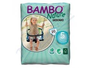 BAMBO Nature Pants Junior navlékací plenkové kalhotky trénink 20ks