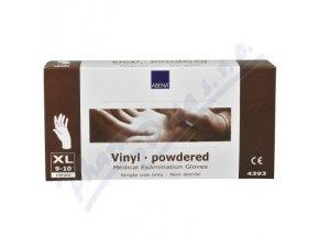 ABENA Rukavice vyšetřovací Vinyl XL (9-10) pudrované 100ks