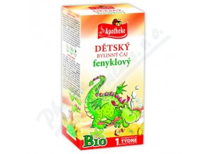 Apotheke Dětský čaj BIO fenyklový 20x1.5g