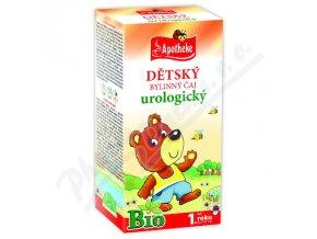 Apotheke Dětský čaj BIO urologický 20x1.5g n.s